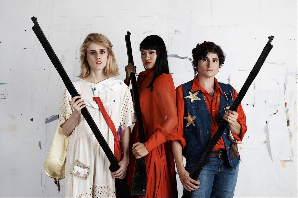 Annie Claire (Claire Cronin), Annie Jasmine (Jasmine Orpilla), Annie Dawn (Dawn Kaspar)