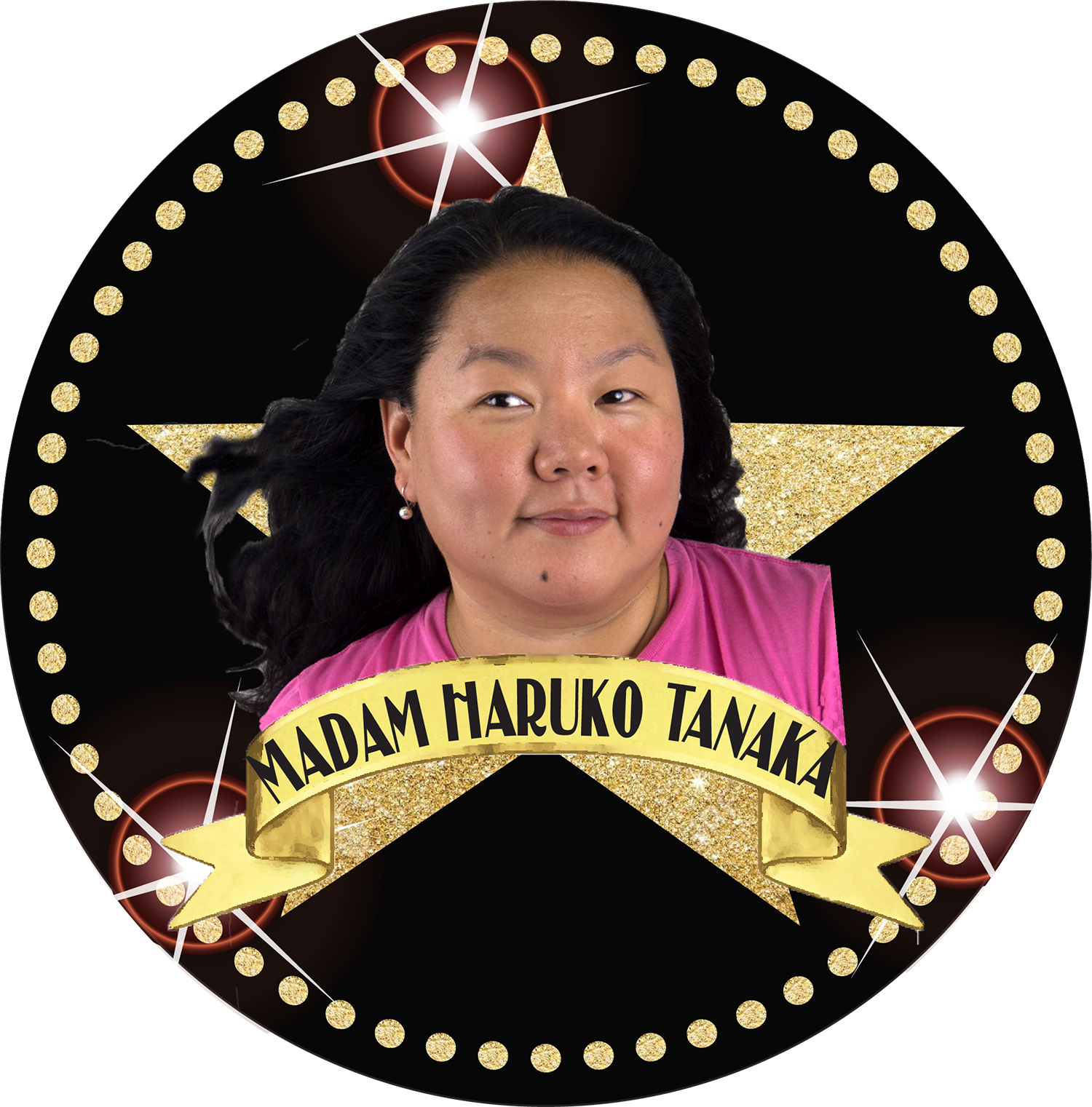 """Haruko has been a proud member of Gawdafful National Theater since its beginning. She started in the gawdafful mailroom and quickly made her way through the ranks doing everything from gawdafful P.R. P.R., gawdafful graphic design, gawdafful videography, gawdafful photography, gawdafful craft services,gawdafful seamstressing, gawdafful background singing, gawdafful stage managing, and gawdafful assistant directing. Today, she holds the title of """"Gawdafful Psychic Aide to the Gawdafful Director"""" and is the designer and creator of this gawdafful website.   www.kissoftheworld.net   www.krystalkrunch.com"""