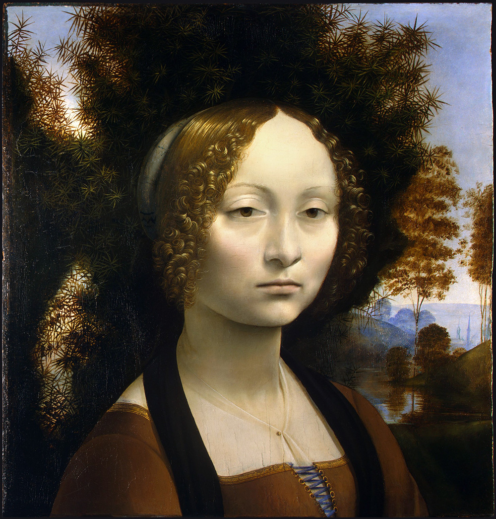 c. 1474 -1478 – Oil on Panel – 38.1 x 37 cm. National Gallery of Art, Washington, D.C.