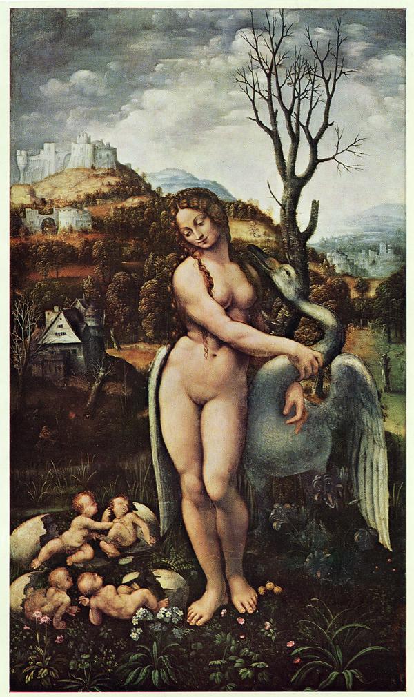 Leda and the Swan    16th century    oil on panel    Philadelphia Museum of Art, USA
