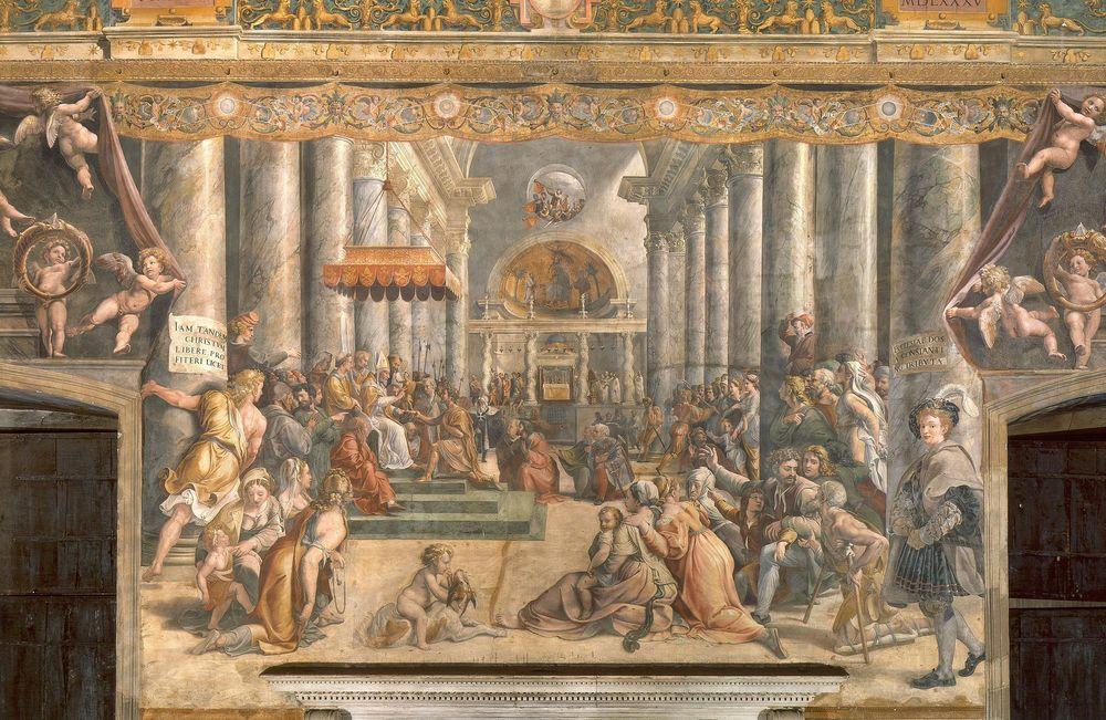 School_of_Raphael_-_Donation_of_Rome (1).jpg