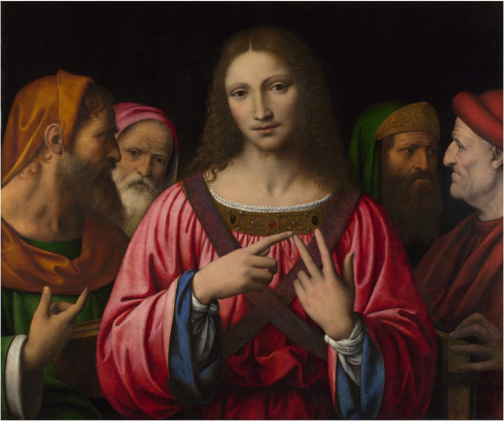 Bernardino Luini - Christ Among the Doctors