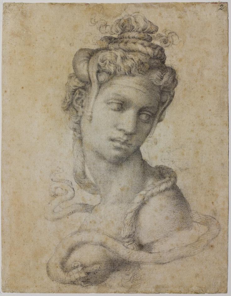 Michelangelo Buonarroti - Sketch - Cleopatra.jpg