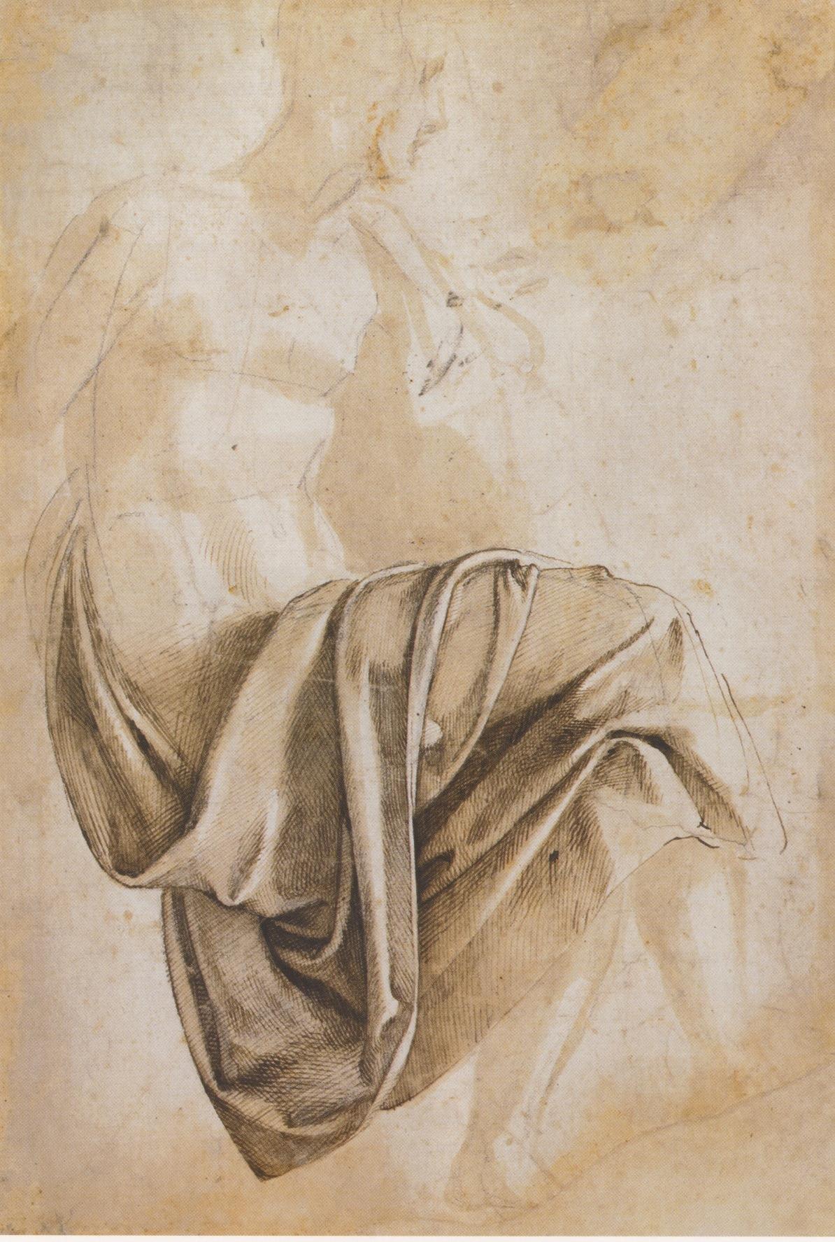 Michelangelo Buonarroti - Sketch - Drapery.jpg