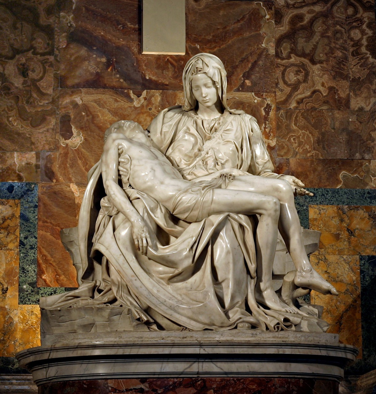 Michelangelo Buonarroti  The Pieta  1498-99