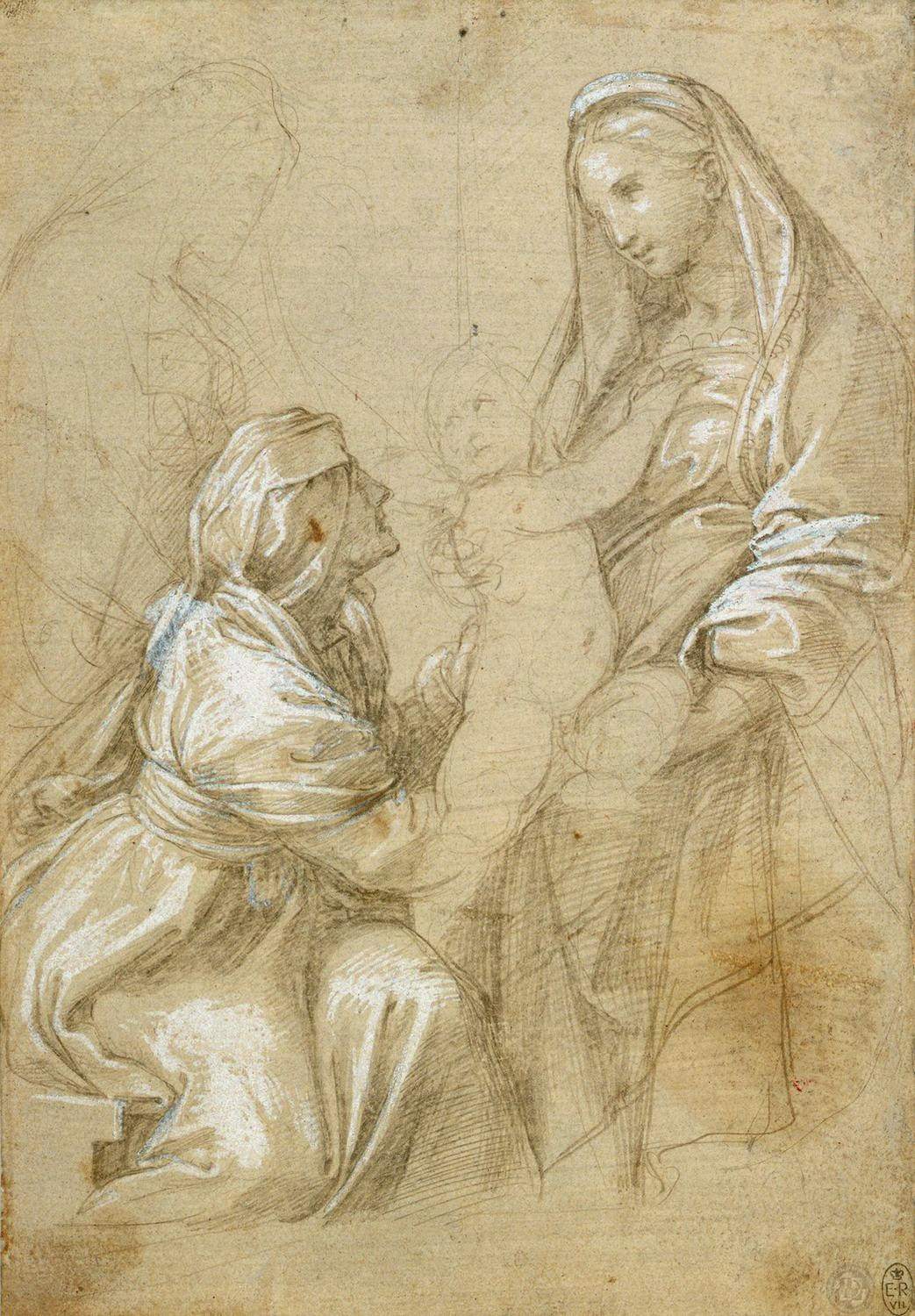 The Virgin and Child with St Elizabeth