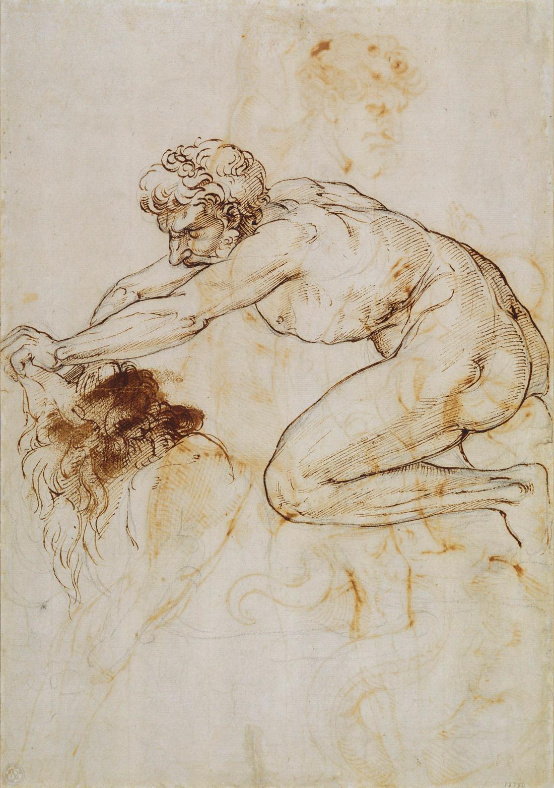 Hercules and the Nemean Lion  c.1508