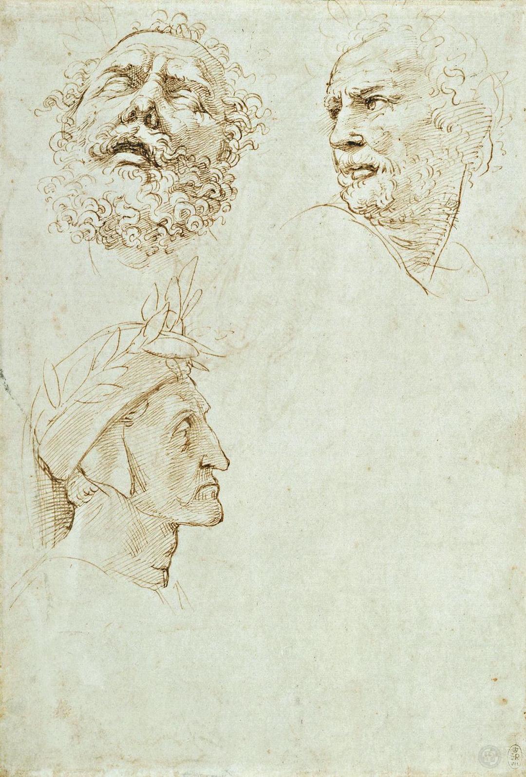 Studies for the Parnassus