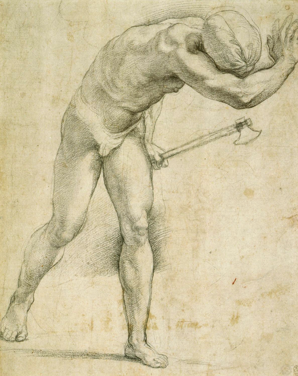 Figure with an Axe