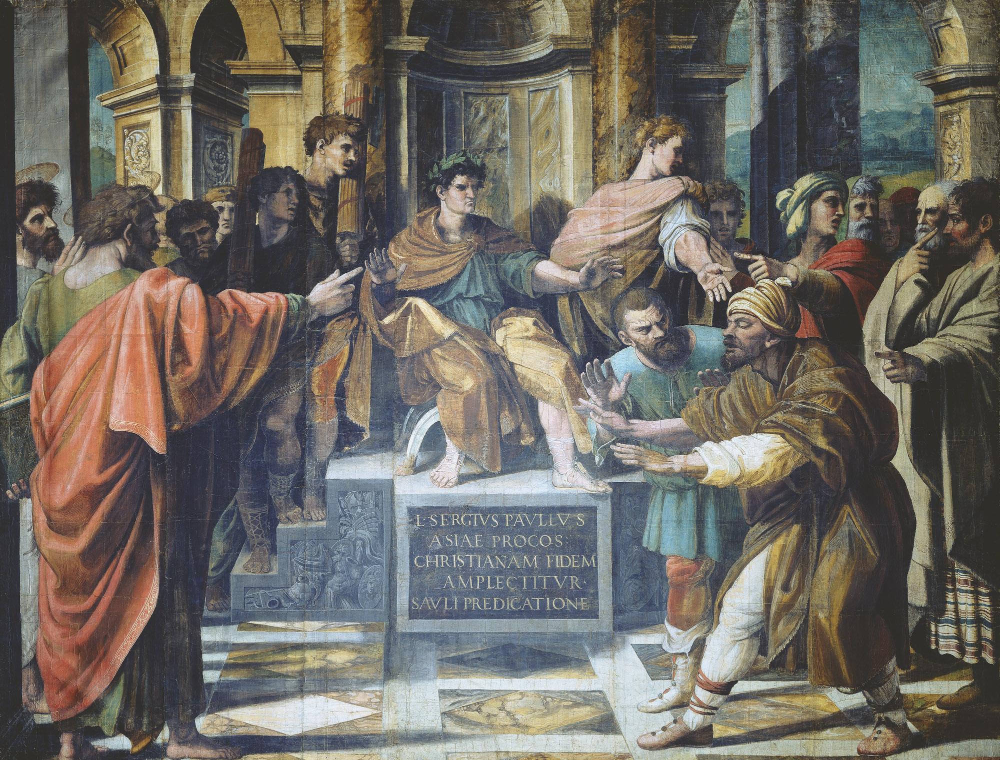 Raphael-Urbino---Painting---The Conversion of the Proconsul.jpg