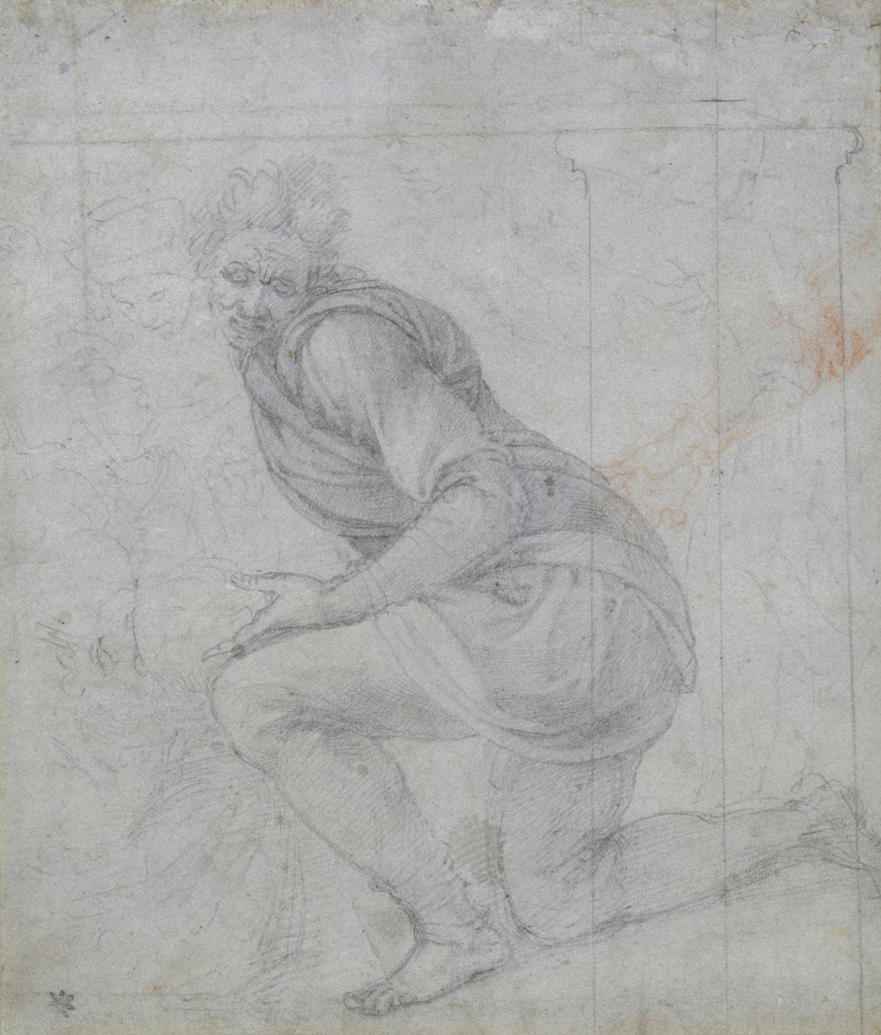 Michelangelo-Buonarroti--Drawing---Study Pieta.jpg