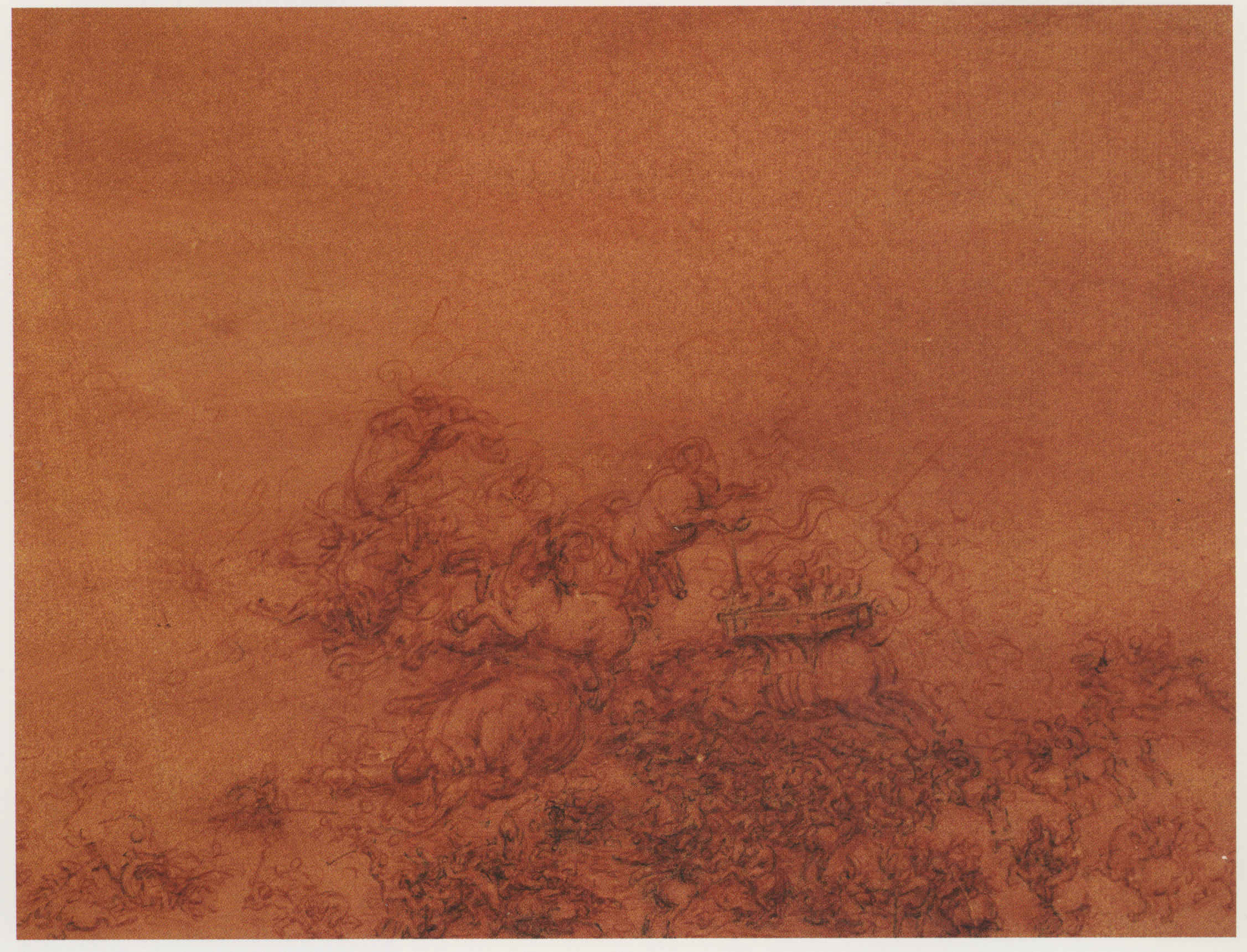Study of a battle with horsemen and foot soulders 1511.jpg