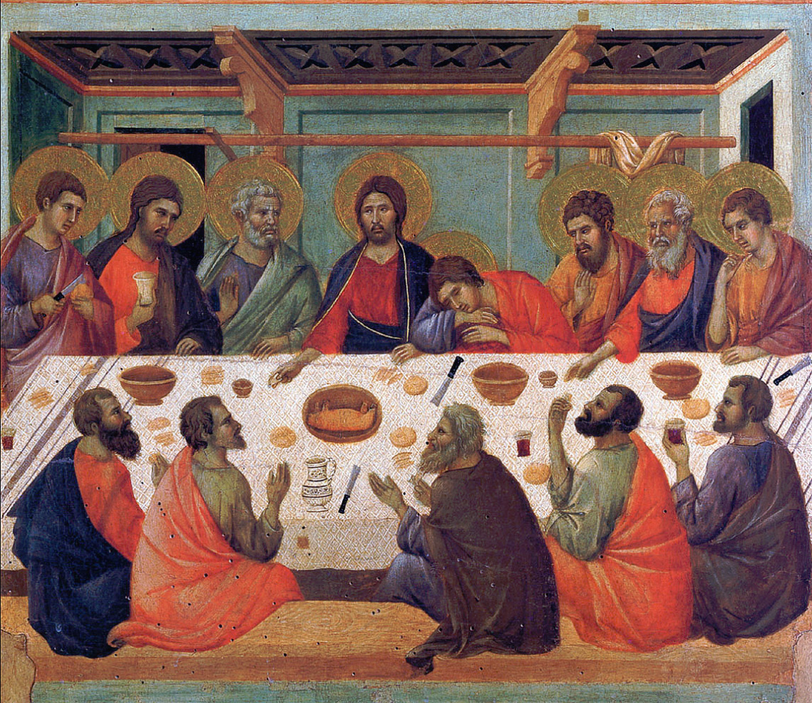 The Last Supper - Duccio, 1308-1311