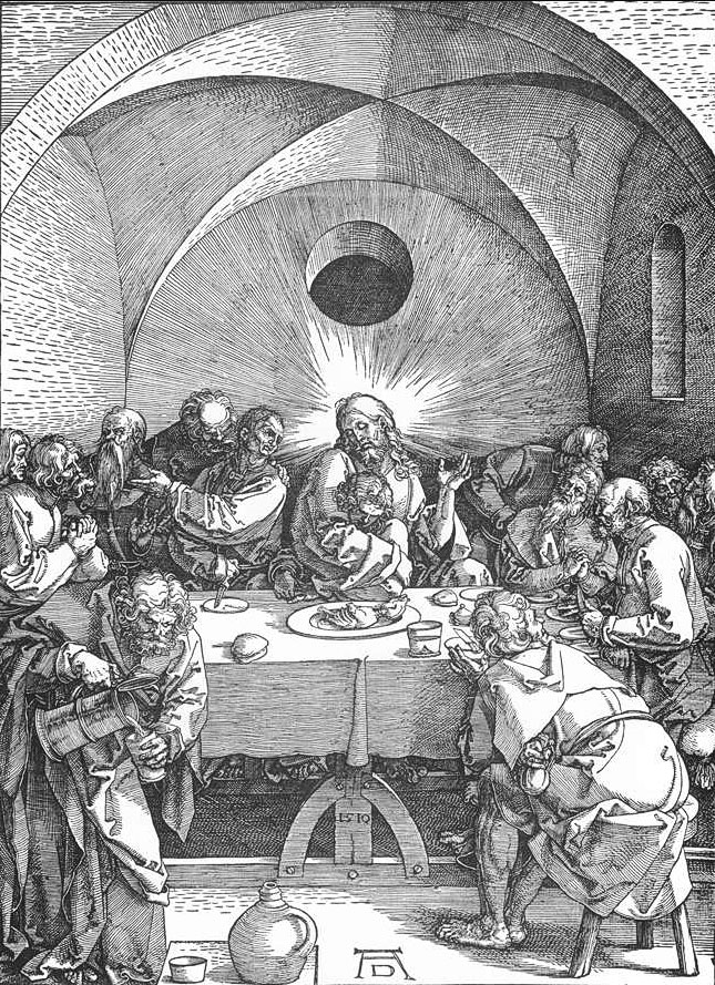 Last Supper - Albrecht Durer, 1496-1510