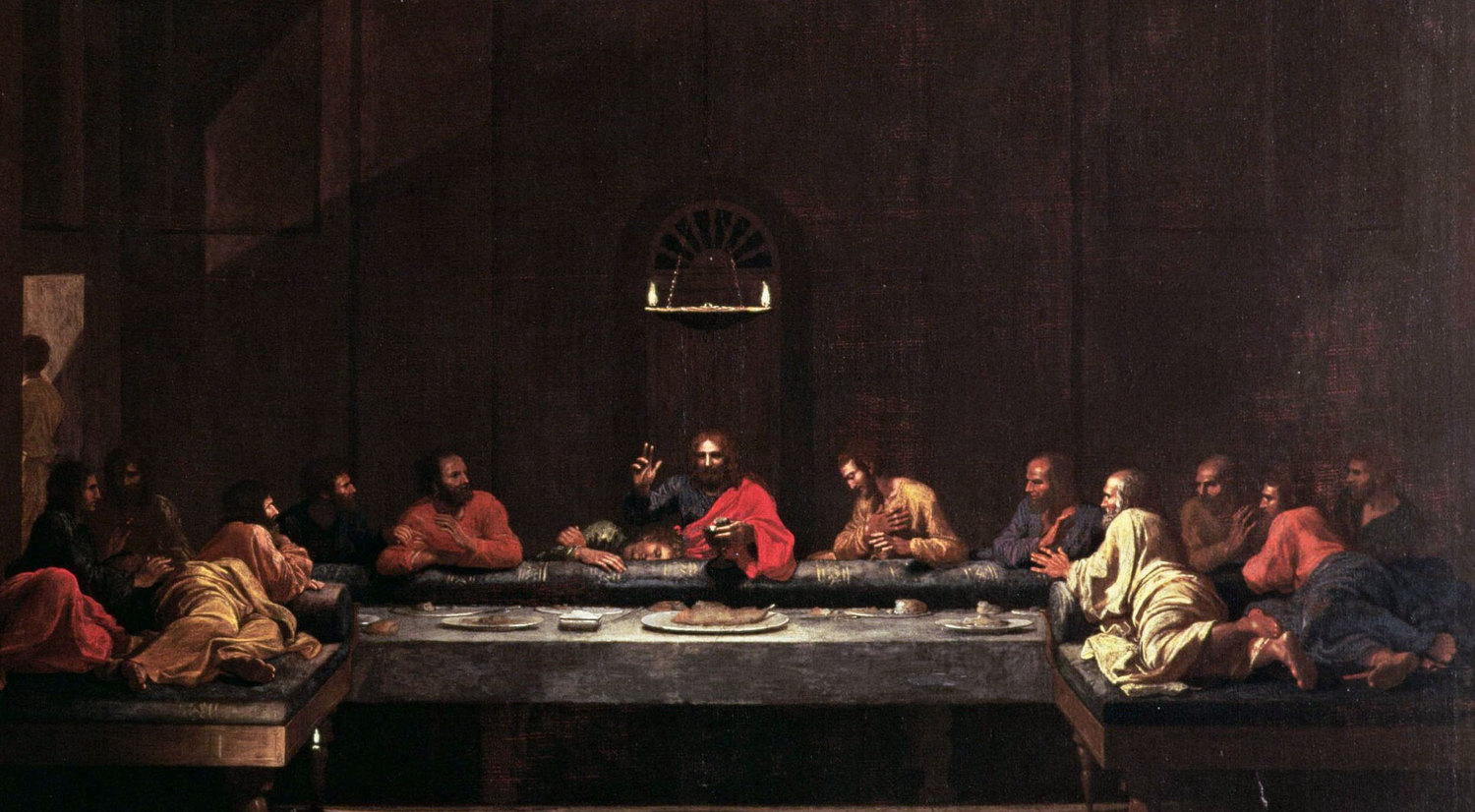 The Last Supper - Nicolas Poussin, 1640-1649