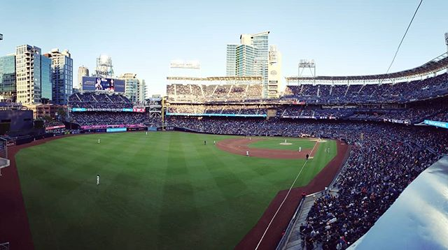 ⚾ #photography #panorama #baseball #padres