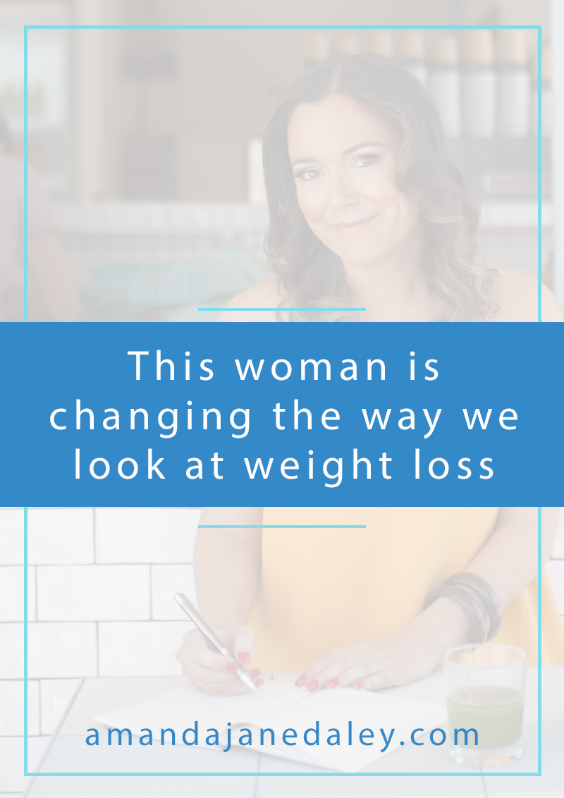 Changing the way we look at weight loss