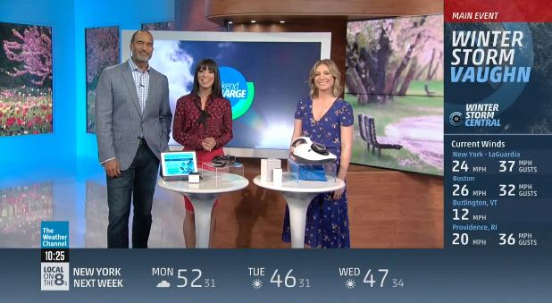 Tech Launchpad on The Weather Channel: Spring Cleaning Tech