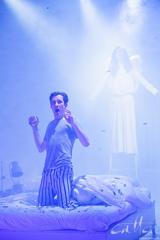 Luke Mullins and Paula Arundell in Angels In America Part 1: Millennium Approaches