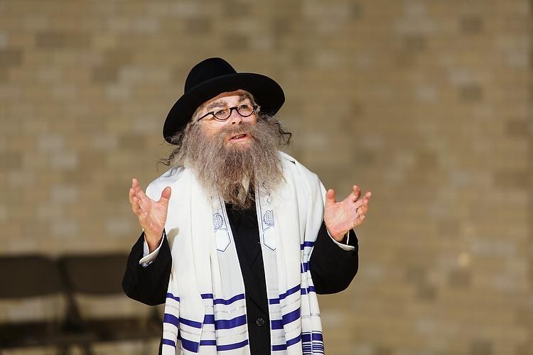 Robyn Nevin as the Rabbi