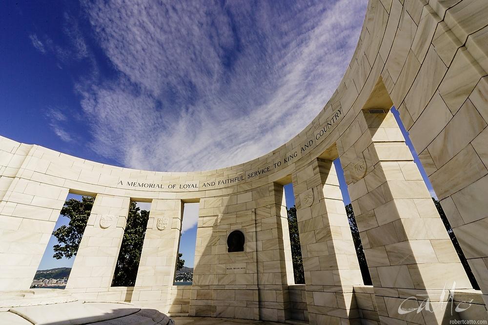 Massey Memorial, Wellington 2004