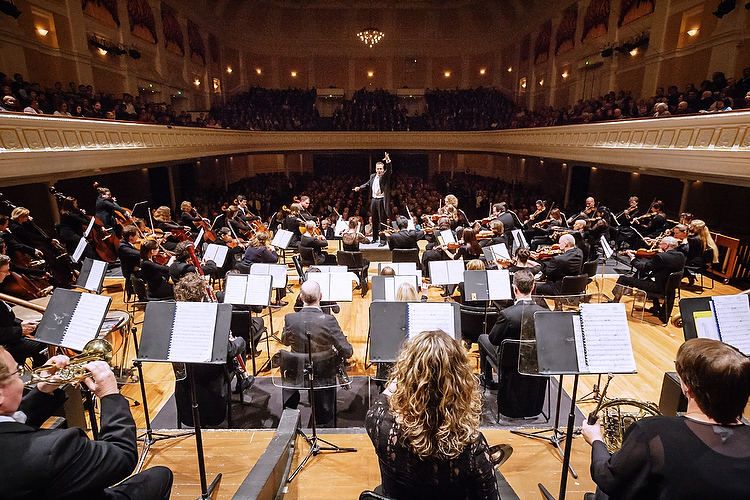 Vector Wellington Orchestra at the Wellington Town Hall