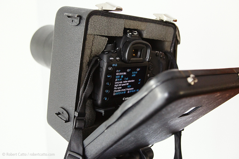Jacobson Sound Blimp on a Canon 5D Mark III