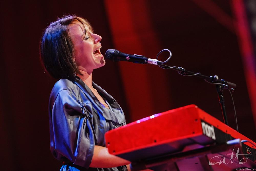 LA Mitchell at theWellington Jazz Festival, 2009.