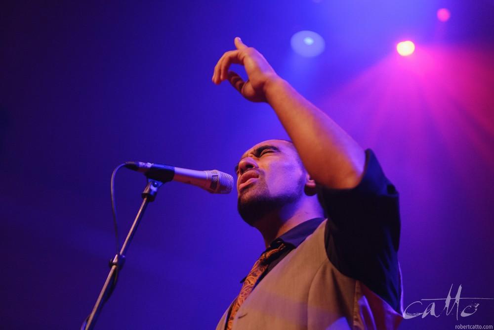 Fat Freddy's Dropat theWellington Jazz Festival, 2009.