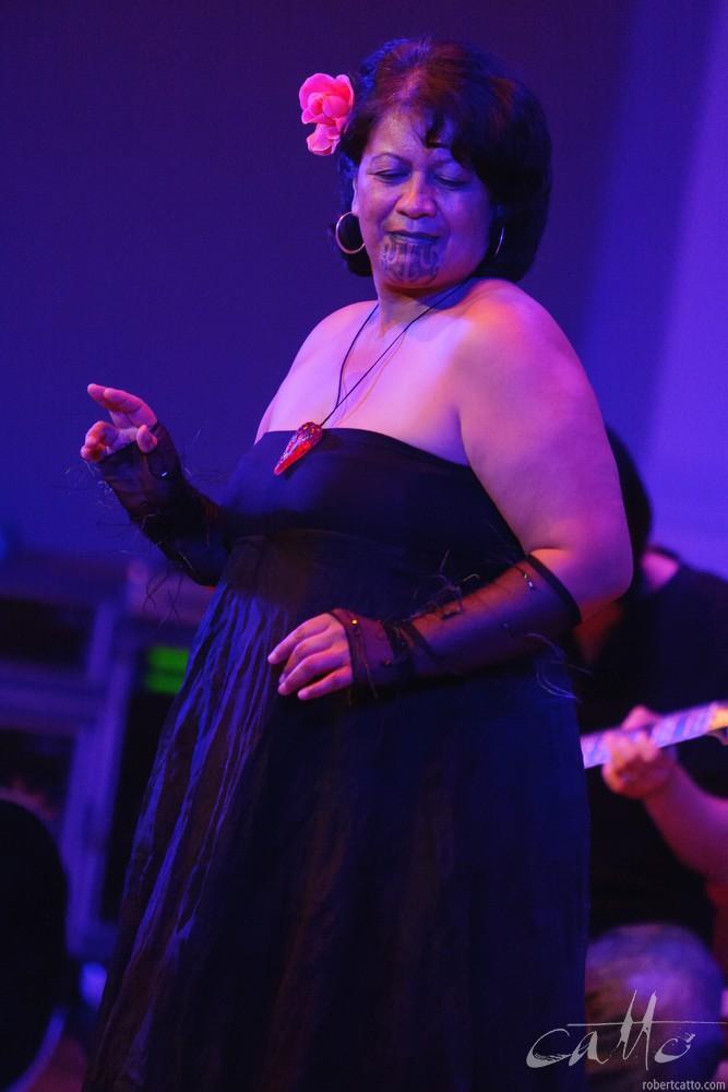 Whirimako Blackat theWellington Jazz Festival, 2009.