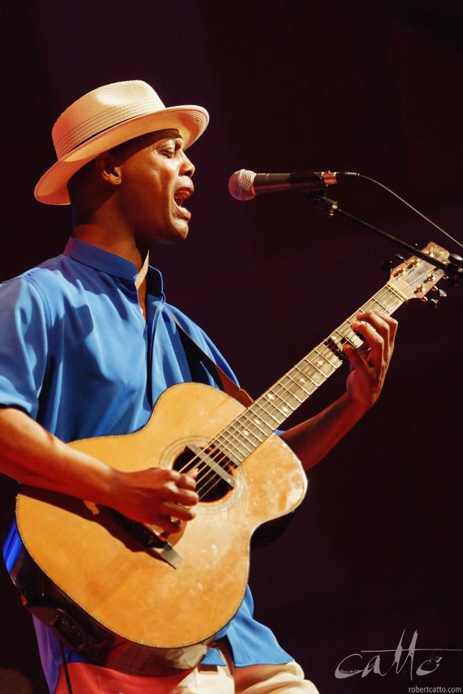Eric Bibbat theWellington Jazz Festival, 2009.