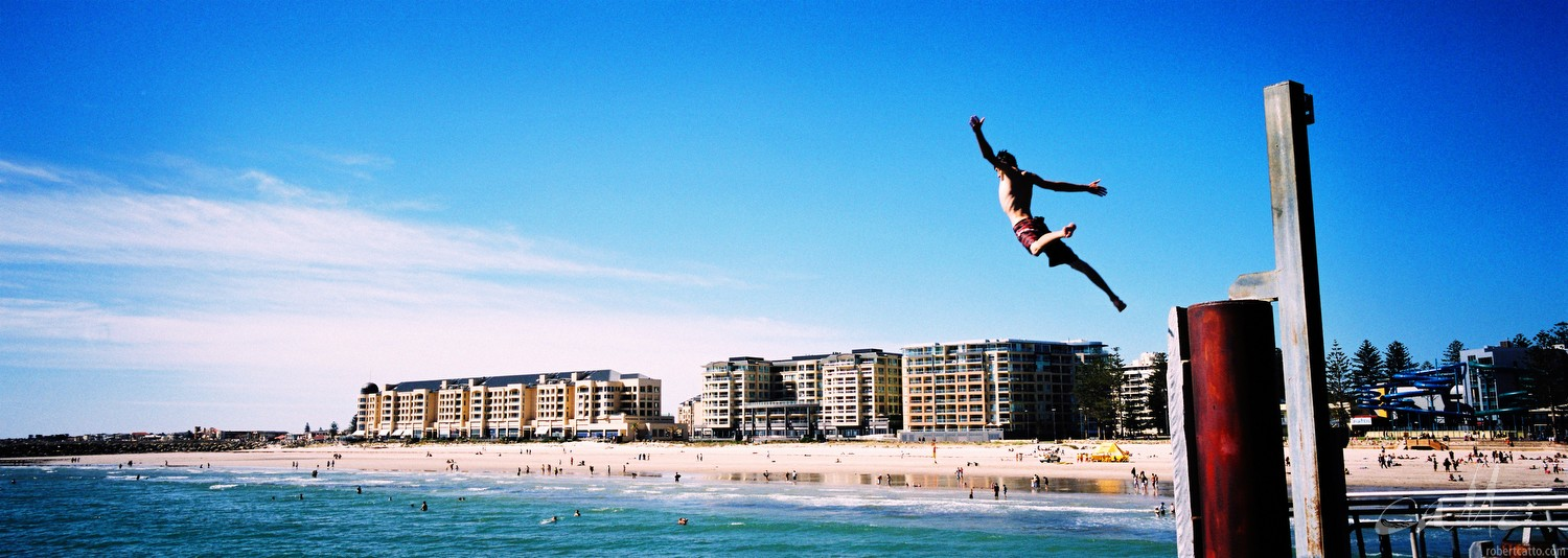 Jumpers at Glenelg, Adelaide South Australia (click to embiggen)