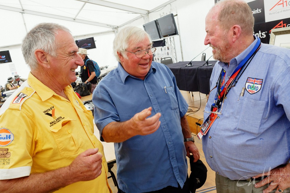 Walter Willmott, Bruce Harre, and Eoin Young