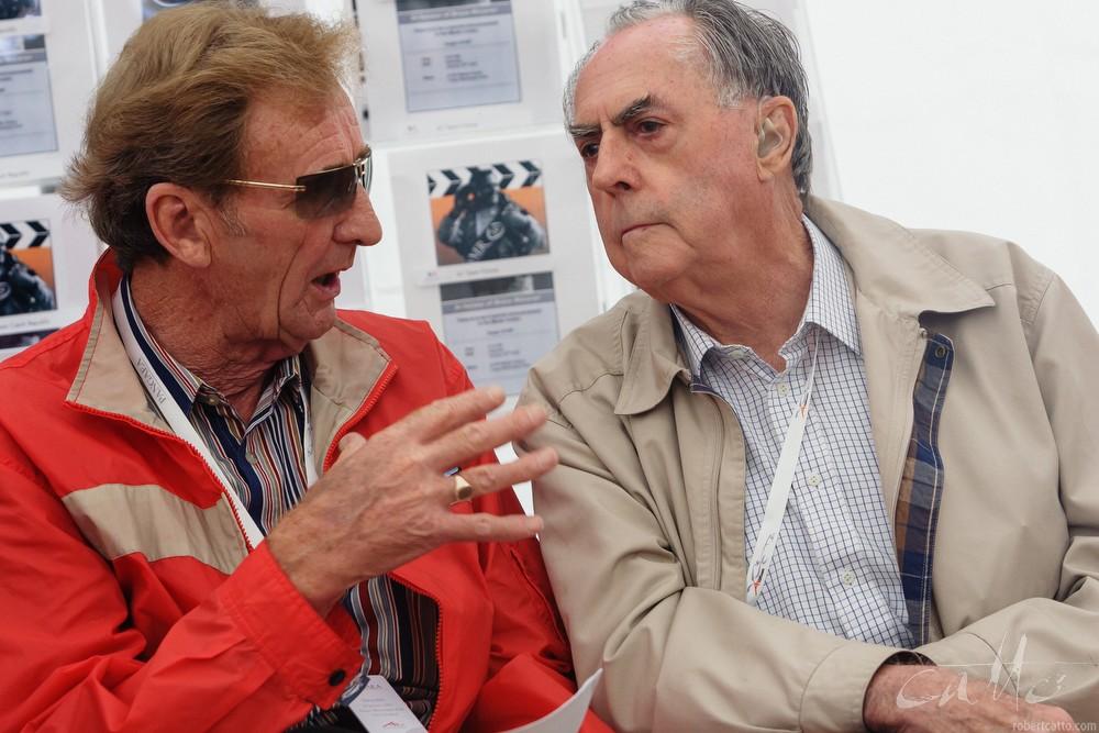 Phil Kerr and Sir Jack Brabham