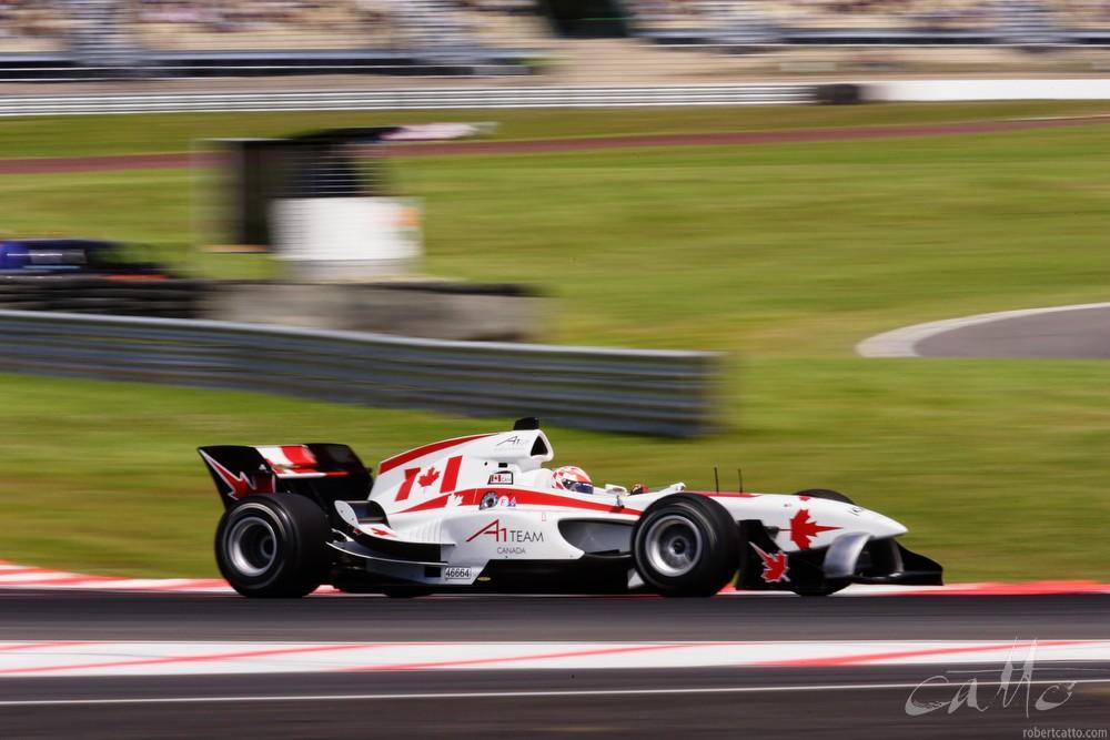 Canadian driver James Hinchcliffe.