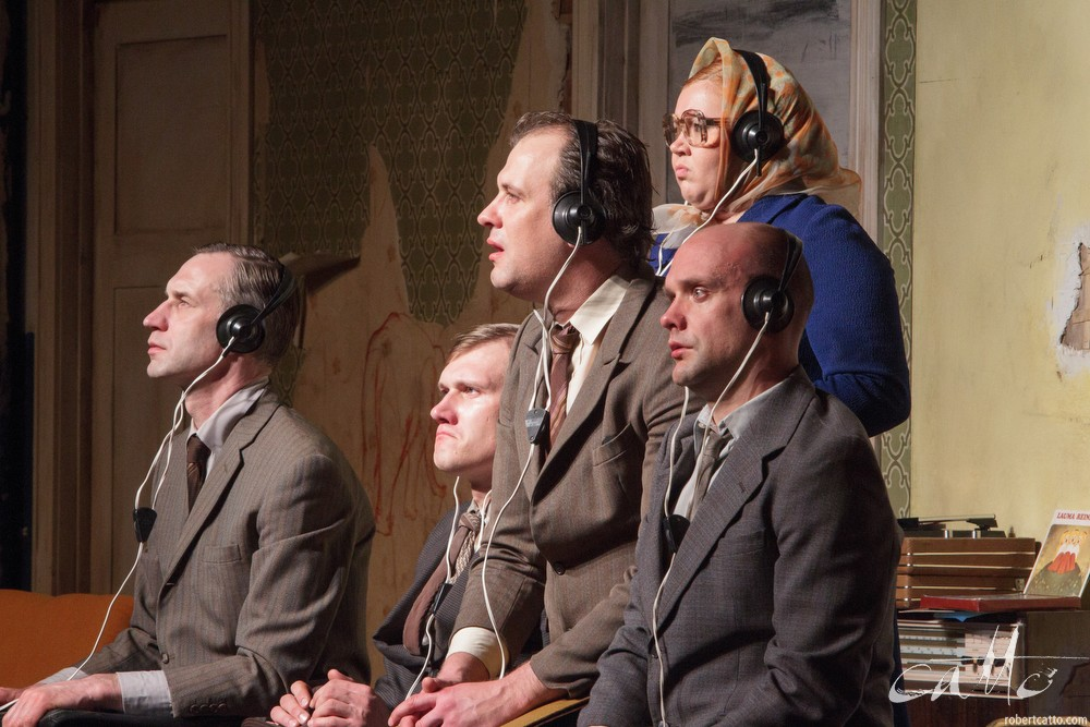 New Theatre of Riga's production, The Sound Of Silence, at the New Zealand International Arts Festival in 2010