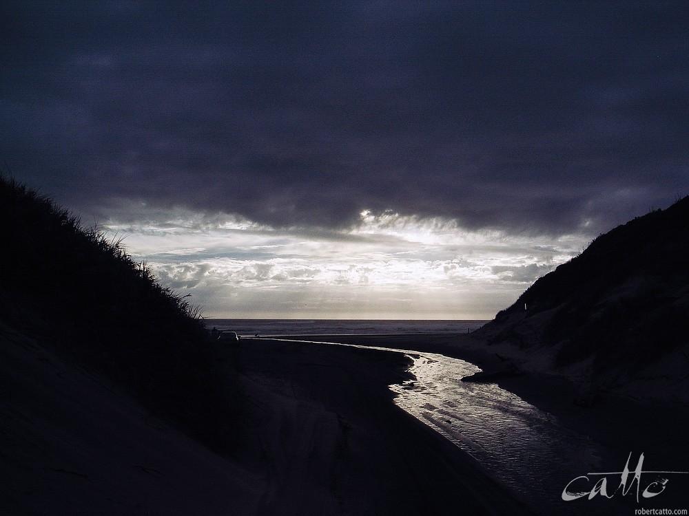 Bayly's Beach, Northland New Zealand