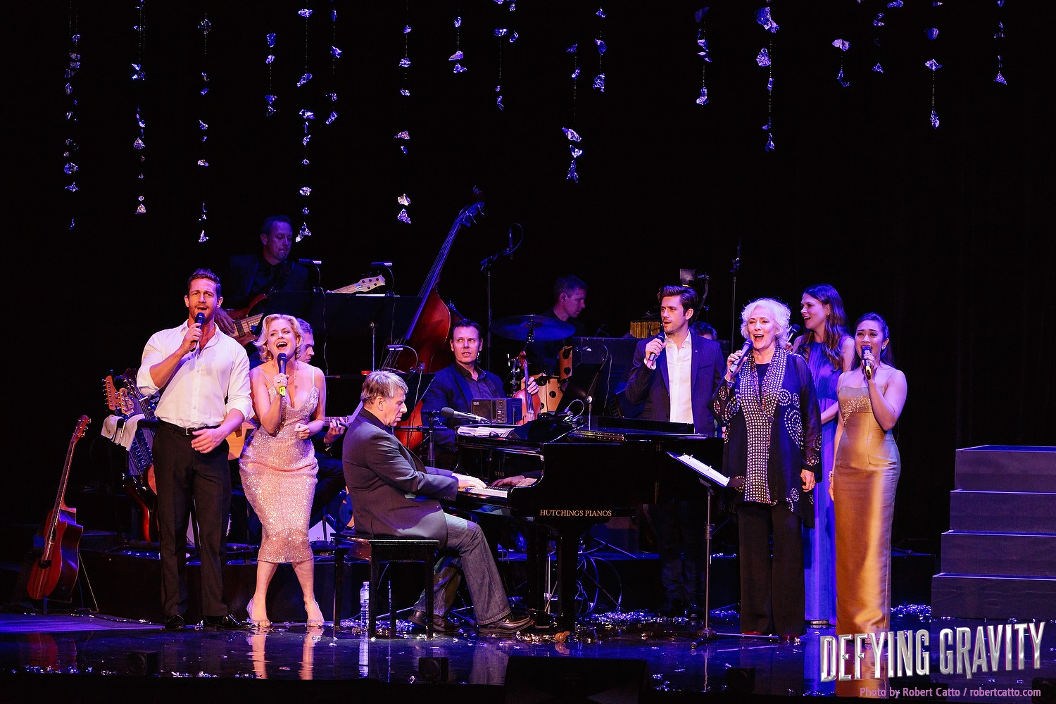 The cast of Defying Gravity sing Day By Day with Stephen Schwartz