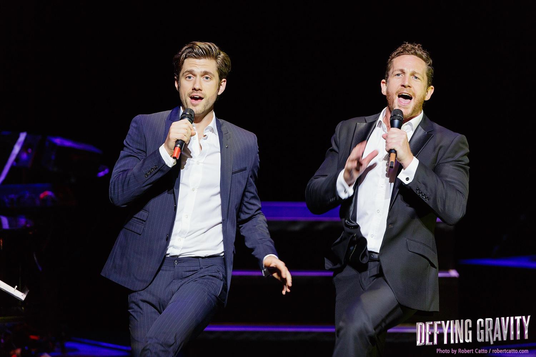 Aaron Tveit & David Harris