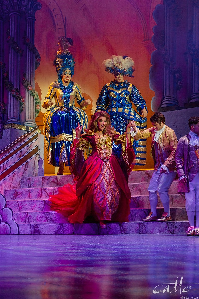 Peter Everett, Craig Bennett, and Gina Liano in Cinderella.