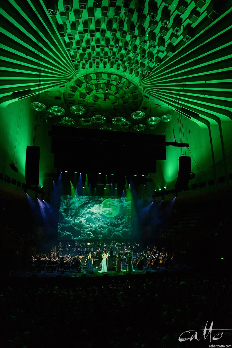 The cast perform Defying Gravity from Wicked