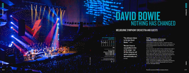 Melbourne Festival brochure