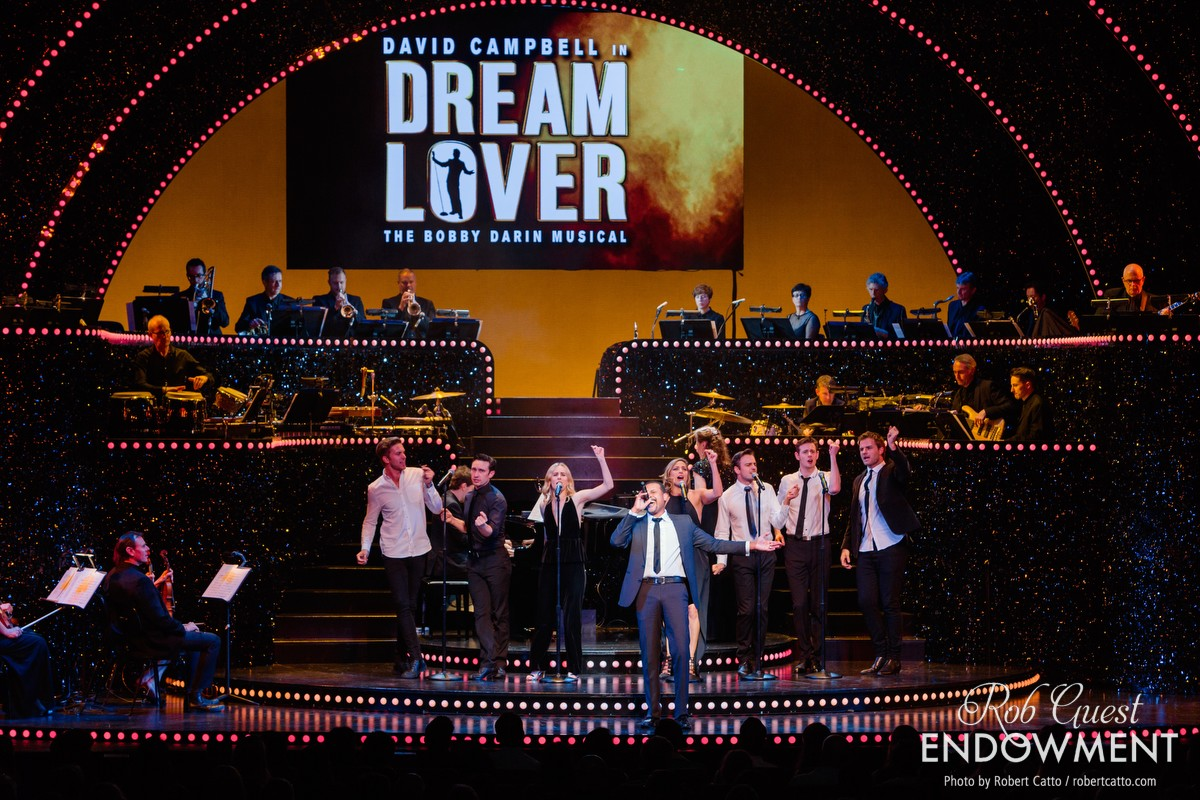 Members of the Dream Lover cast perform 'Dream Lover'.
