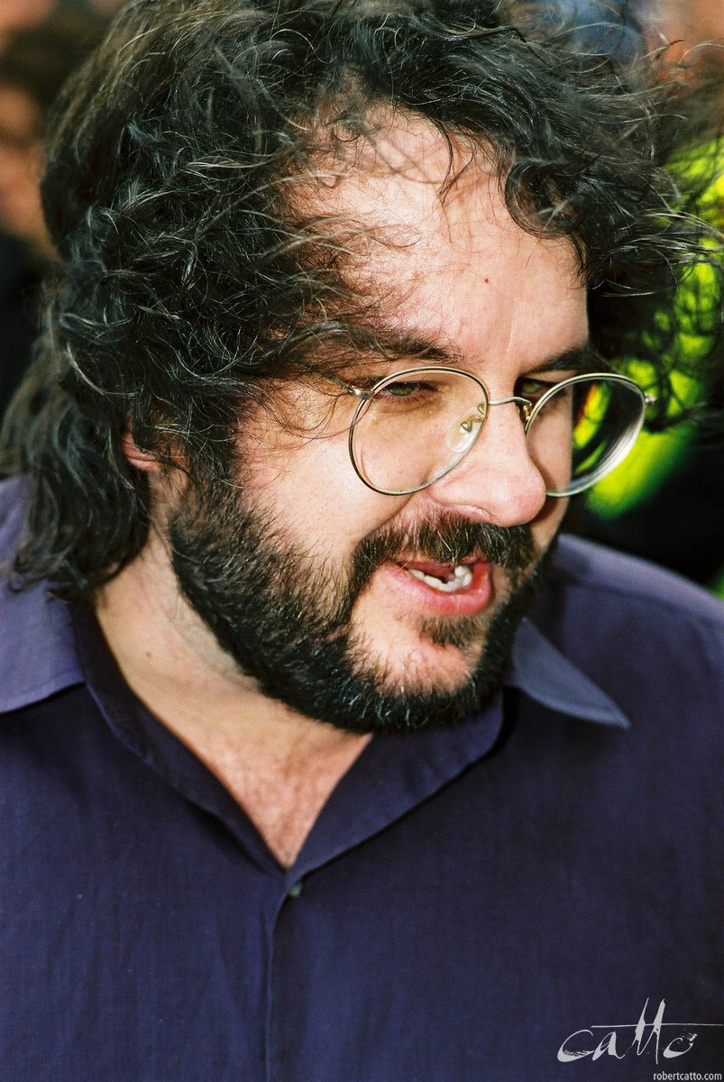 Peter Jackson at the Lord Of The Rings: Fellowship Of The Ring Premiere at the Embassy Theatre, Wellington, New Zealand.