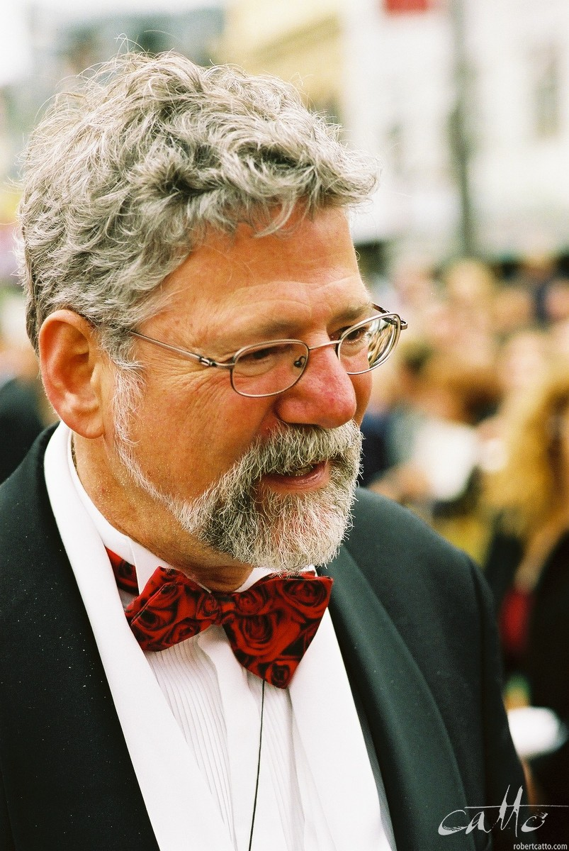 Producer Barrie Osborne at the Lord Of The Rings: Fellowship Of The Ring Premiere at the Embassy Theatre, Wellington, New Zealand.