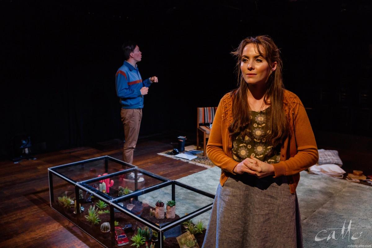 James Raggatt and Charlotte Hazzard in Blink