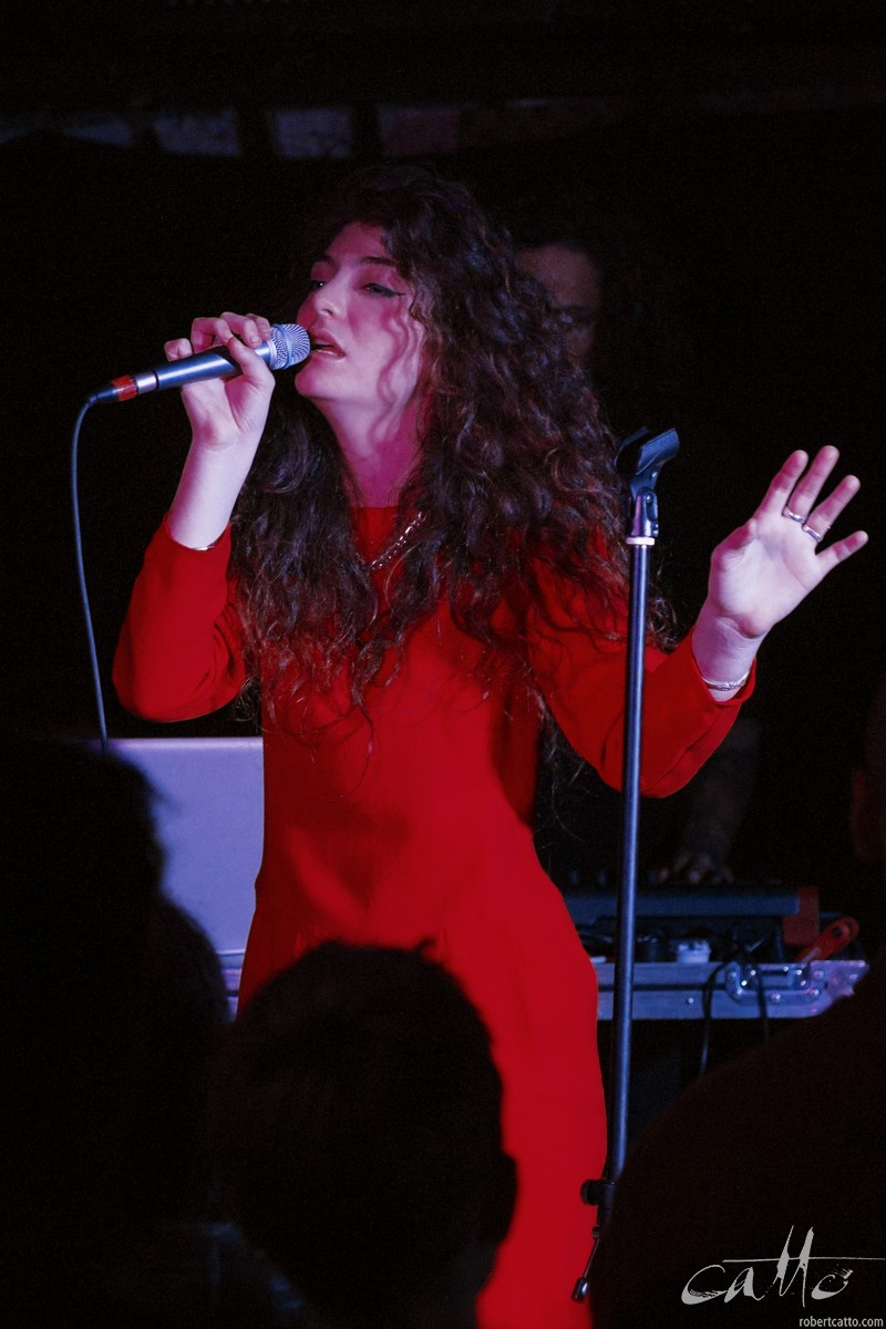 Kiwi indie pop darling Lorde made her Sydney debut at GoodGod club after the release of her first EP.