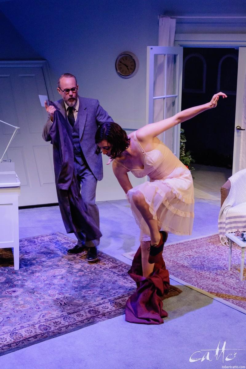 Jo Turner and Miranda Daughtry in Hysteria