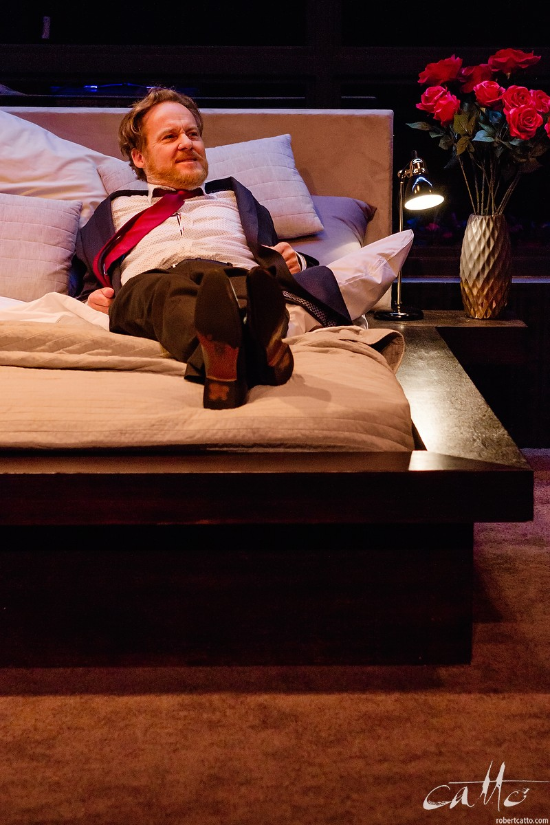Paul Gleeson in I Love You Now at Darlinghurst Theatre Company