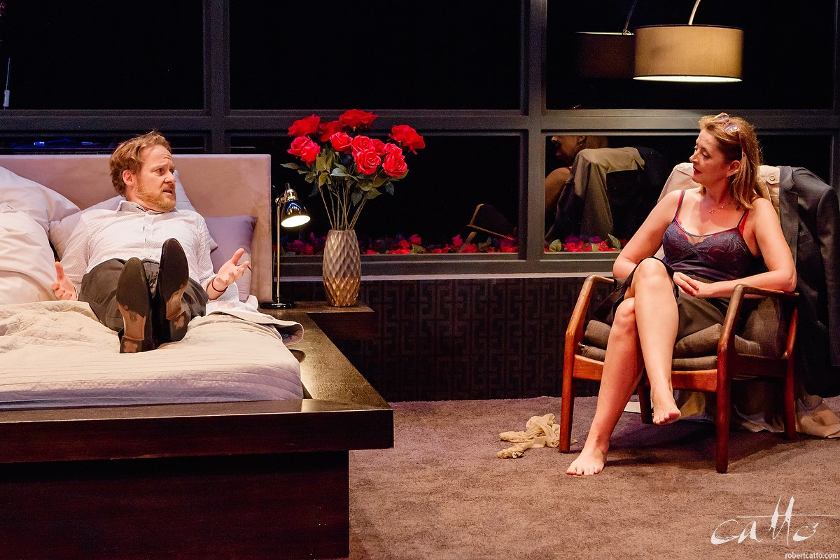 Paul Gleeson & Jeanette Cronin in I Love You Now - At Darlinghurst Theatre Company, Sydney